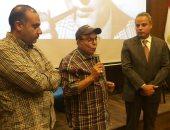 """صور.. """"قصر السينما"""" يحتفى بمحمد فوزى بحضور الفنان سمير صبرى"""