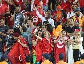 """مدغشقر ضد تونس.. """"الجنس اللطيف"""" لنسور قرطاج يخطف الأنظار ..صور"""
