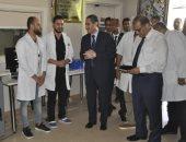 اليوم بدء استقبال وحدة السكتة الدماغية والحضانات للحالات بمستشفى جامعة قناة السويس.. صور