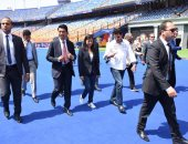 رئيس مدغشقر مشيدا باستاد القاهرة: صرح عظيم يستحق استضافة الأحداث العالمية