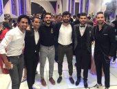 صور.. نجوم الكرة فى حفل زفاف كوكو حارس المقاصة