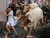 استمرار فعاليات مهرجان الثيران بإسبانيا لليوم السادس على التوالى