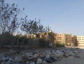 قارئ يشكو من انتشار القمامة بشارع الخزان بحدائق الأهرام