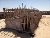 سوق الجملة بالعريش مشروع جديد لخدمة أهالى شمال سيناء.. اعرف التفاصيل