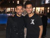 """أحمد أيمن منصور يلقب السعيد بـ """"الكابيتانو"""" فى عيد ميلاده"""