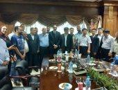 ميناء الإسكندرية يستضيف وفدا نقابيا من إتحاد شاندونج للنقابات العمالية بدولة الصين