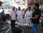 """صور.. """"مياه القناة"""" تنهى تطهير شبكات صرف سوق الجمعة بالإسماعيلية"""