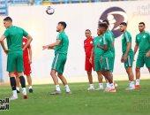 تدريبات منتخب الجزائر استعدادا لمباراة نيجيريا فى نصف نهائى كان 2019