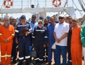 """""""علوم البحار والمصايد"""" يستعرض تقرير حول أول رحلة بحرية للسفينة """"سلسبيل"""""""