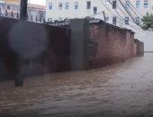شاهد.. فيضانات عارمة تضرب الهند وتؤدى إلى مقتل 18 شخصا