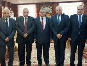 رئيس النيابة الإدارية يستقبل عميد كلية الحقوق فى جامعة القاهرة