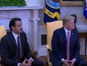 """شاهد.. """"مباشر قطر"""" تكشف الانبطاح القطرى للإدارة الأمريكية"""