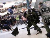 مواجهات عنيفة فى هونج كونج خلال مظاهرات جديدة مناهضة للحكومة