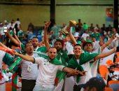 جماهير الجزائر ونيجيريا تملأ استاد القاهرة قبل مواجهة نصف نهائى الكان