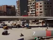 فيديو.. أهالى المحلة يشكون من سيارة ميكروباص تحمل مكبرات صوت بميدان الشون