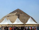 ميل أون صنداى تبرز افتتاح هرمين للجمهور لأول مرة منذ عام 1965 لجذب السياح