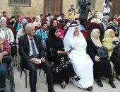 صور .. جامعة المنيا تشارك فى تنظيم الملتقى الدولى السادس للكاريكاتير بالقاهرة