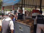 صور.. مدير أمن المنوفية يتفقد الخدمات الأمنية بمدينتى شبين الكوم وقويسنا
