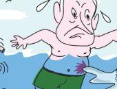 كاريكاتير إسرائيلى: نتنياهو فاشل سياسياً فى قيادة تل أبيب