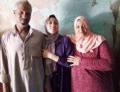 """فيديو وصور.. قصة تفوق مريم فى الثانوية العامة بمجموع 98.5%..وحلمها الالتحاق بـ""""الطب"""""""