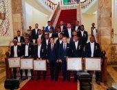 منح منتخب مدغشقر أعلى الأوسمة بعد إنجازه التاريخى بأمم أفريقيا.. صور