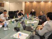 """أمين """"البحوث الإسلامية"""" يبحث مع وفد أوزباكستانى التبادل العلمى فى العلوم الشرعية"""
