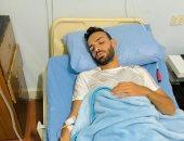 شرخ فى القدم يبعد ميدو جابر عن الملاعب 3 أسابيع بسبب إصابة العزل المنزلى
