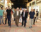 محافظ جنوب سيناء يتفقد السوق القديم بشرم الشيخ