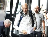 زيدان يعود إلى معسكر ريال مدريد فى كندا