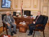رئيس هيئة النيابة الإدارية يقدم التهنئة رئيس محكمة النقض لتوليه منصبه الجديد