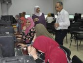 بدء الاختبارات الإلكترونيةلكليات التمريض والصيدلةبجامعة قناة السويس