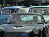 شاهد.. سباق خاص بالسيارات القديمة والأصلية فى روسيا