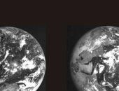 وكالة الفضاء الأوروبية تكشف عن صورة للقمر والأرض أثناء خسوف كلى سابق