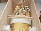 بدء أعمال ترميم التابوت الذهبى للملك توت عنخ آمون بالمتحف الكبير