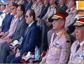 الرئيس السيسى يشهد حفل تخريج الدفعة 157 ضباط الصف المعلمين