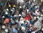 ارتفاع عدد ضحايا انهيار مبنى بمدينة مومباى الهندية إلى 14 شخصا