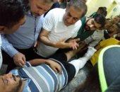 إصابة العشرات فى انهيار سقف مسجد خلال صلاء العشاء فى حلب بسوريا