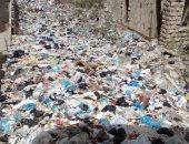 """قطعة أرض تتحول لمقلب للقمامة بالعجمى بطاش فى الإسكندرية """"صور"""""""