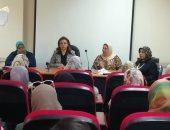 صور ..التضامن الاجتماعى بالإسكندرية: تنظم ندوات توعيى بمرض سرطان الثدى