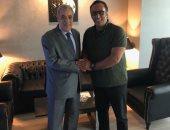 منتصر النبراوى يلتقى سفير الجزائر لبحث تسهيلات جماهير محاربى الصحراء بنهائى أفريقيا