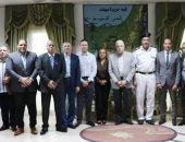 محافظ جنوب سيناء يستقبل وفد البنك المركزى المصرى للتنسيق لاستضافة الاجتماع الـ19