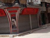 إشغال الرصيف بأحجار وحواجز بشارع ناصر الموصل بدمياط والأهالى يطالبون بالتدخل