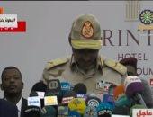 المجلس العسكرى بالسودان: الاتفاق السياسى لحظة تاريخية وثمرة مجهود كبير