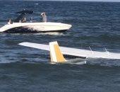 هبوط اضطرارى..طائرة أمريكية تسقط فى مياه أحد شواطئ ولاية ميريلاند