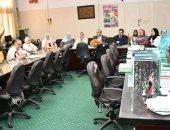 مركز القياس والتقويم بجامعة الزقازيق يعقد دورات تدريبية لكليات القطاع الصحى