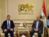 رئيس العربية للتصنيع يستقبل السفير القبرصى.. ويؤكد: مشروعات مشتركة قريبا
