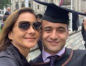 صور.. نيللى كريم تحتفل بتخرج نجلها من المدرسة