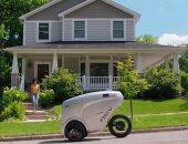 وظيفة الدليفرى بتختفى.. روبوت جديد على شكل دراجة لتوصيل الطلبات للبيت