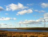 توربينات الرياح بأسكتلندا تنتج كهرباء تكفى لتشغيل جميع المنازل مرتين