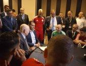 الرئيس الجزائرى يدعم محاربى الصحراء قبل موقعة السنغال بنهائي أمم أفريقيا